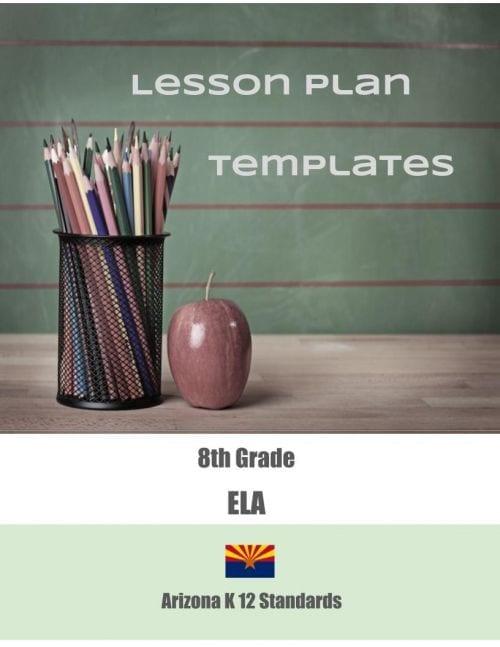 Arizona Lesson Plan Templates-Blank (Click to Select ELA or MATH)
