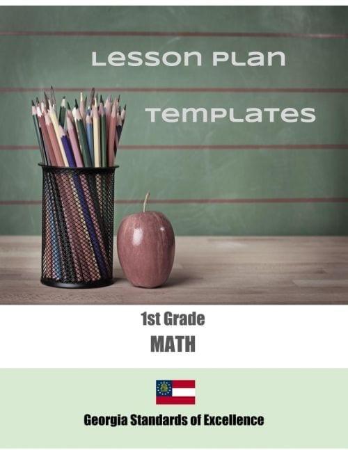 Georgia Lesson Plan Templates (Click to Select ELA or MATH)