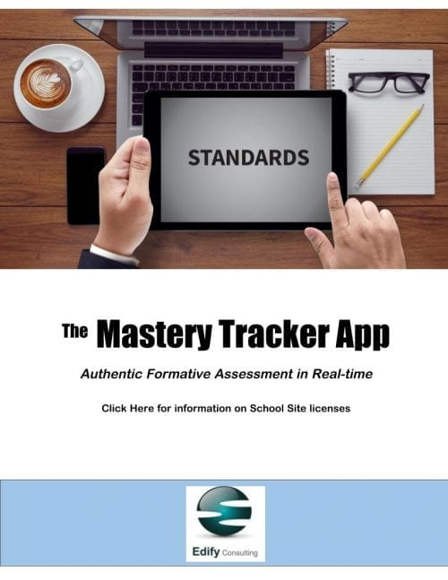 Mastery Tracker App (Click for Your Site Capacity) Discounted to support school's with remote learning during the Covid-19 pandemic