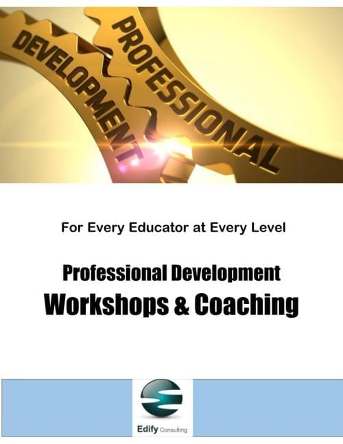 Professional Development Workshops & Coaching (Choose Your Workshop)