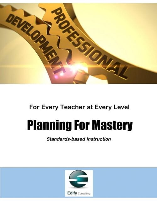Planning For Mastery (Click to Choose Your Session)