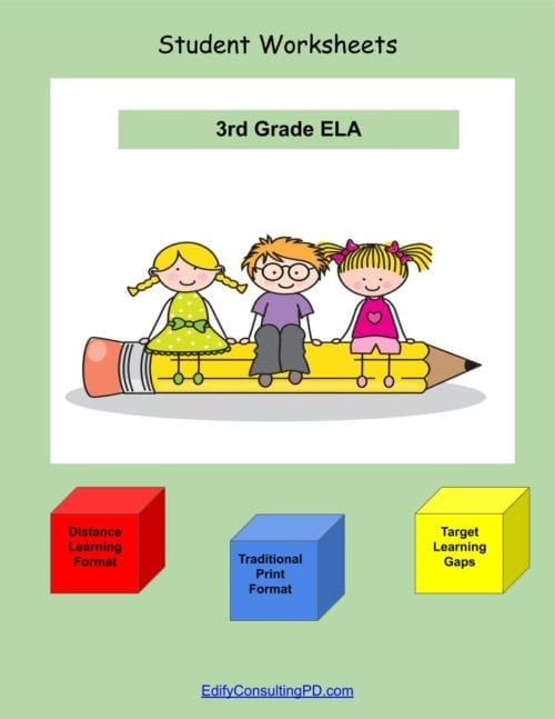 3rd Grade Worksheets-ELA