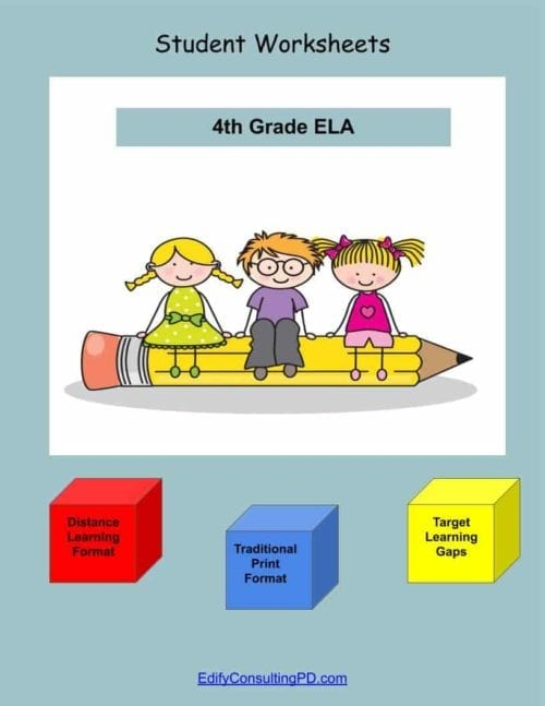 4th Grade Worksheets-ELA