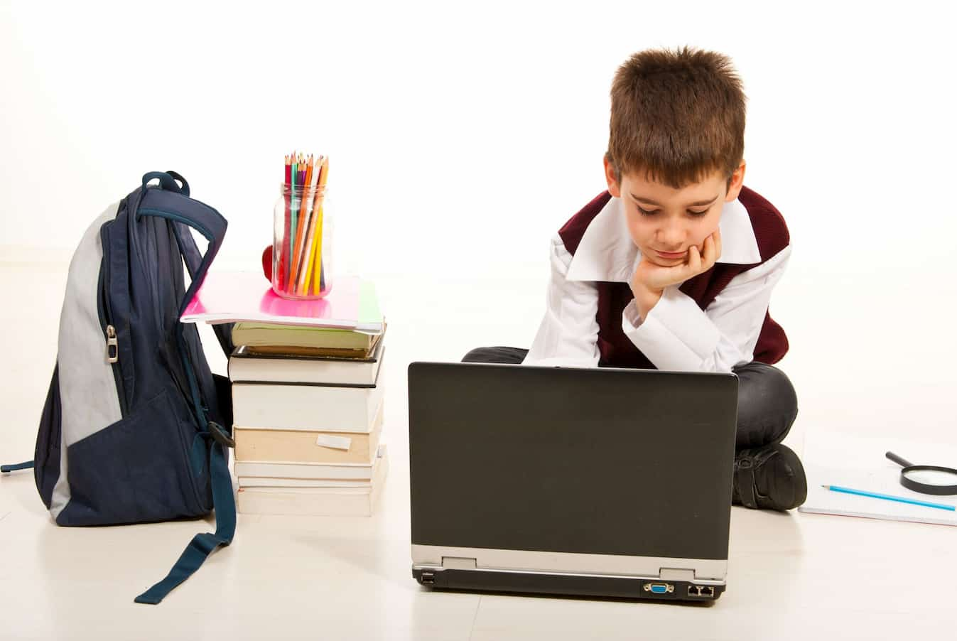 Boy Laptop Computer