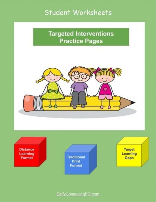 Targeted Interventions Worksheets