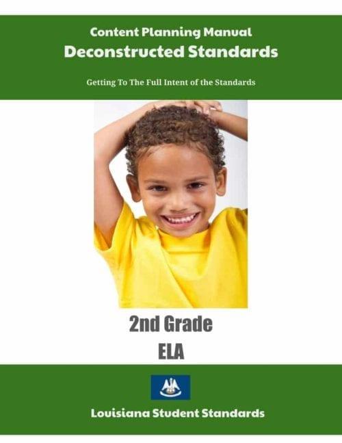Louisiana Content Planning Manual (Click to Select ELA or Math)