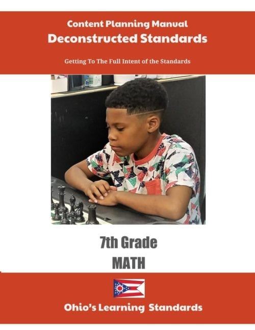 Ohio Deconstructed Standards Content Planning Manual (Click to Select ELA or MATH)
