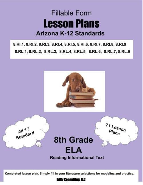 7th Grade Worksheets-ELA