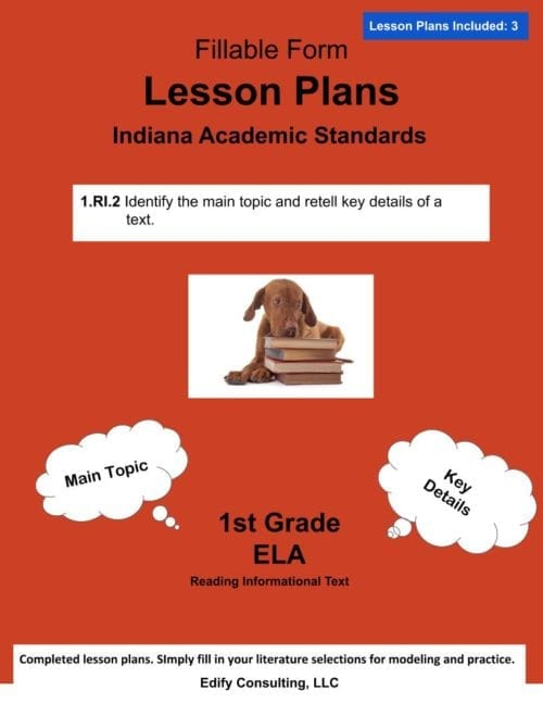Indiana Lesson Plans