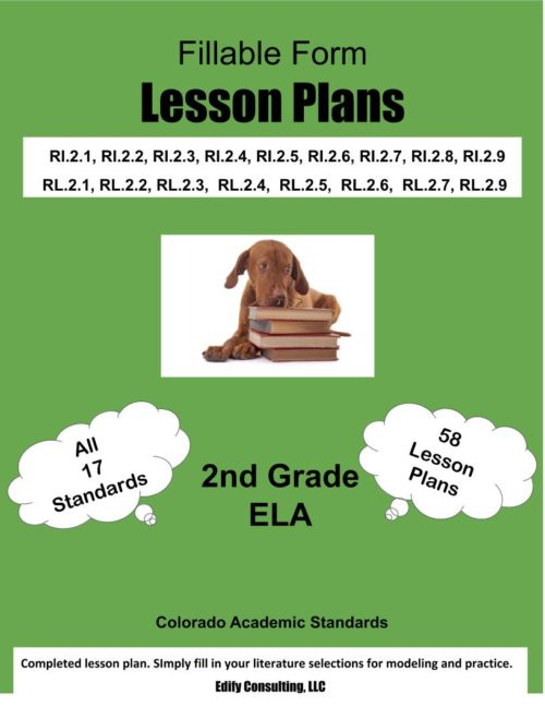 Colorado Lesson Plans (fillable-form)