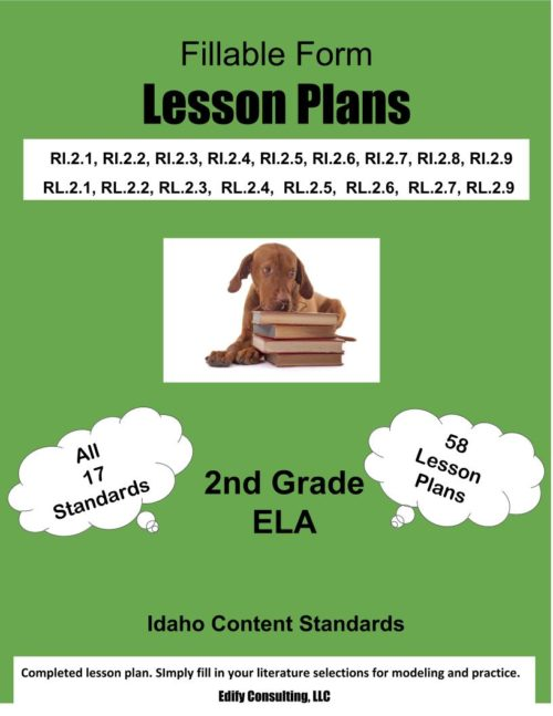 Idaho Lesson Plans (fillable-form)