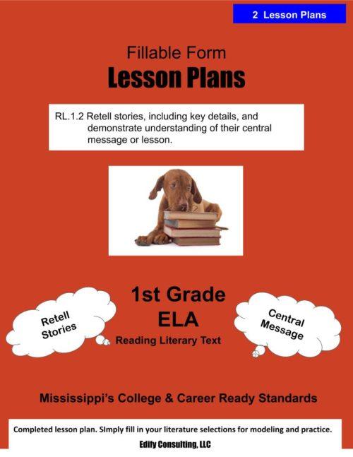 Mississippi Lesson Plans (fillable-form)