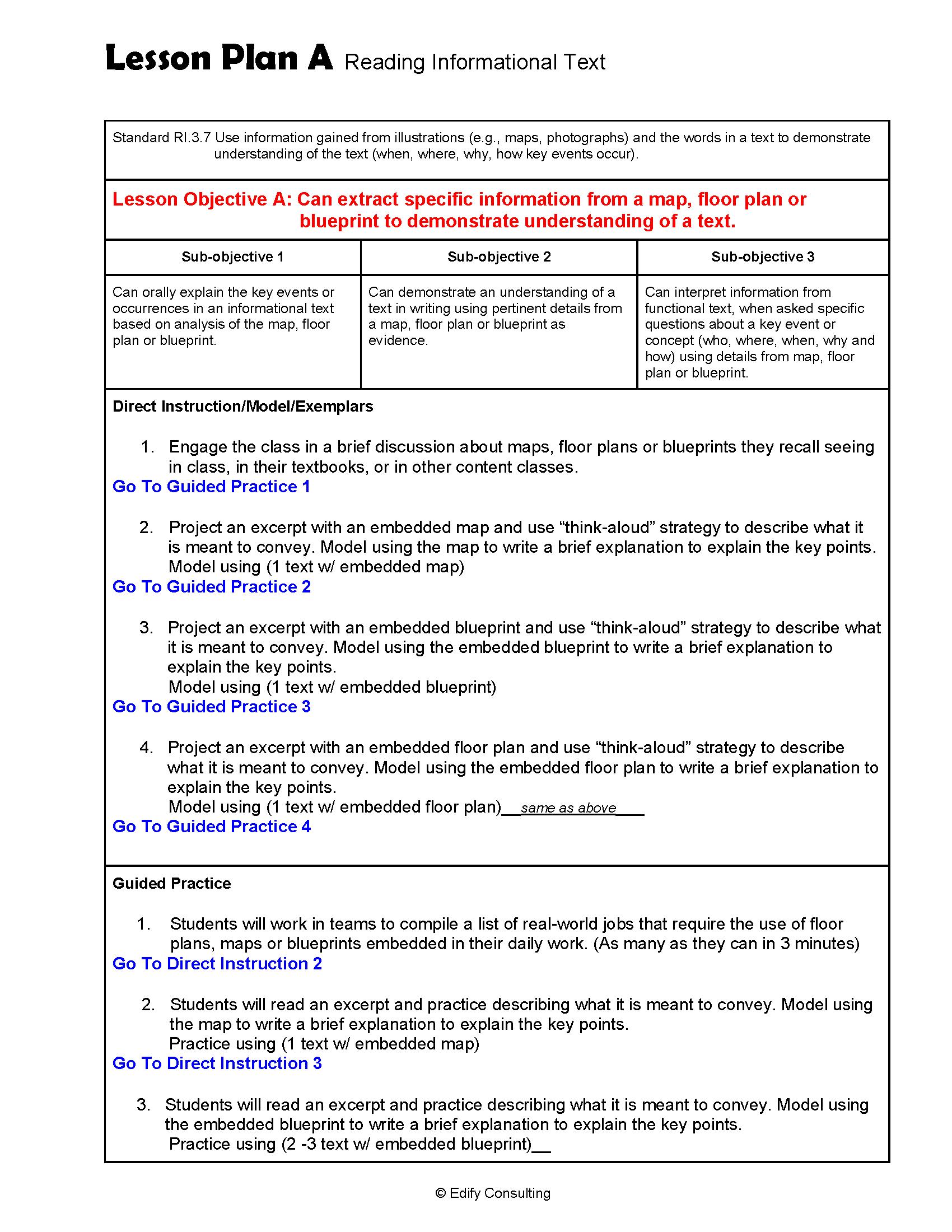 New Jersey Lesson Plans Ri 3 7 Ela 3rd Grade 5 Lesson Plans Edify Consulting