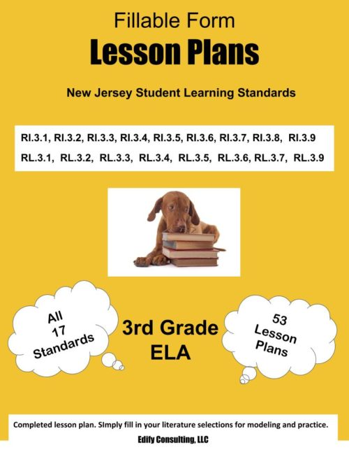 New Jersey Lesson Plans (fillable-form)